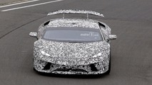Lamborghini Huracan Superleggera Spy Pics at the Nurburgring