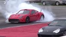 Une berlinette avec un moteur de Tesla à l'accélération impressionnante !