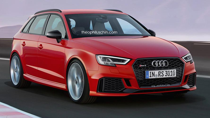 Audi RS3 Sportback Tasarım Yorumu