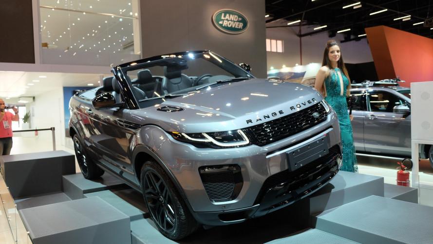 Salão do Automóvel: exclusivo, Evoque conversível chega ao Brasil por R$ 292.500
