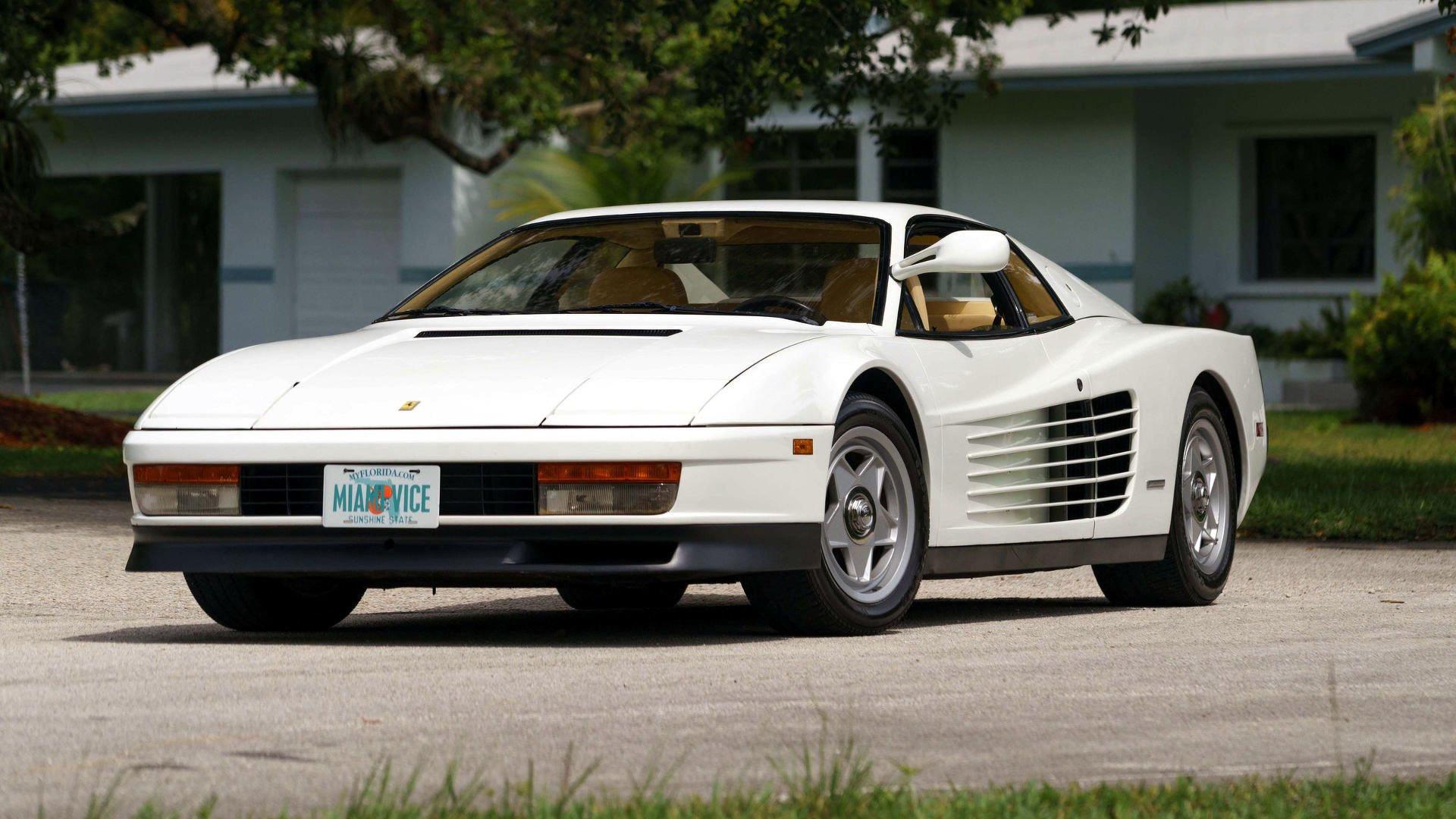 How Much Power Does The 1987 Ferrari Testarossa Still Have