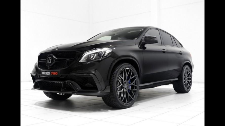 Brabus lança GLE 63 S Coupe de 700 cv e 127,4 kgfm por US$ 530 mil