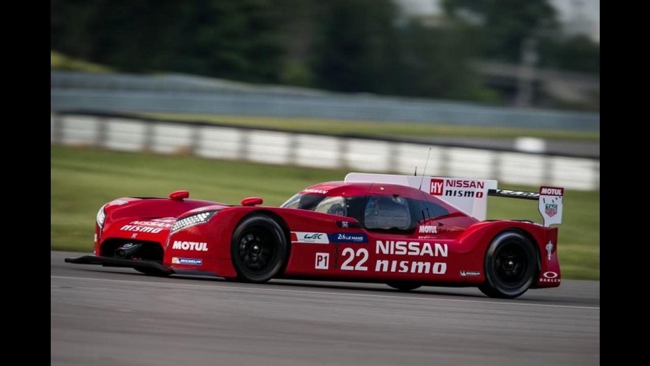 Veja detalhes do Nissan GT-R LM Nismo, o primeiro com tração dianteira em Le Mans