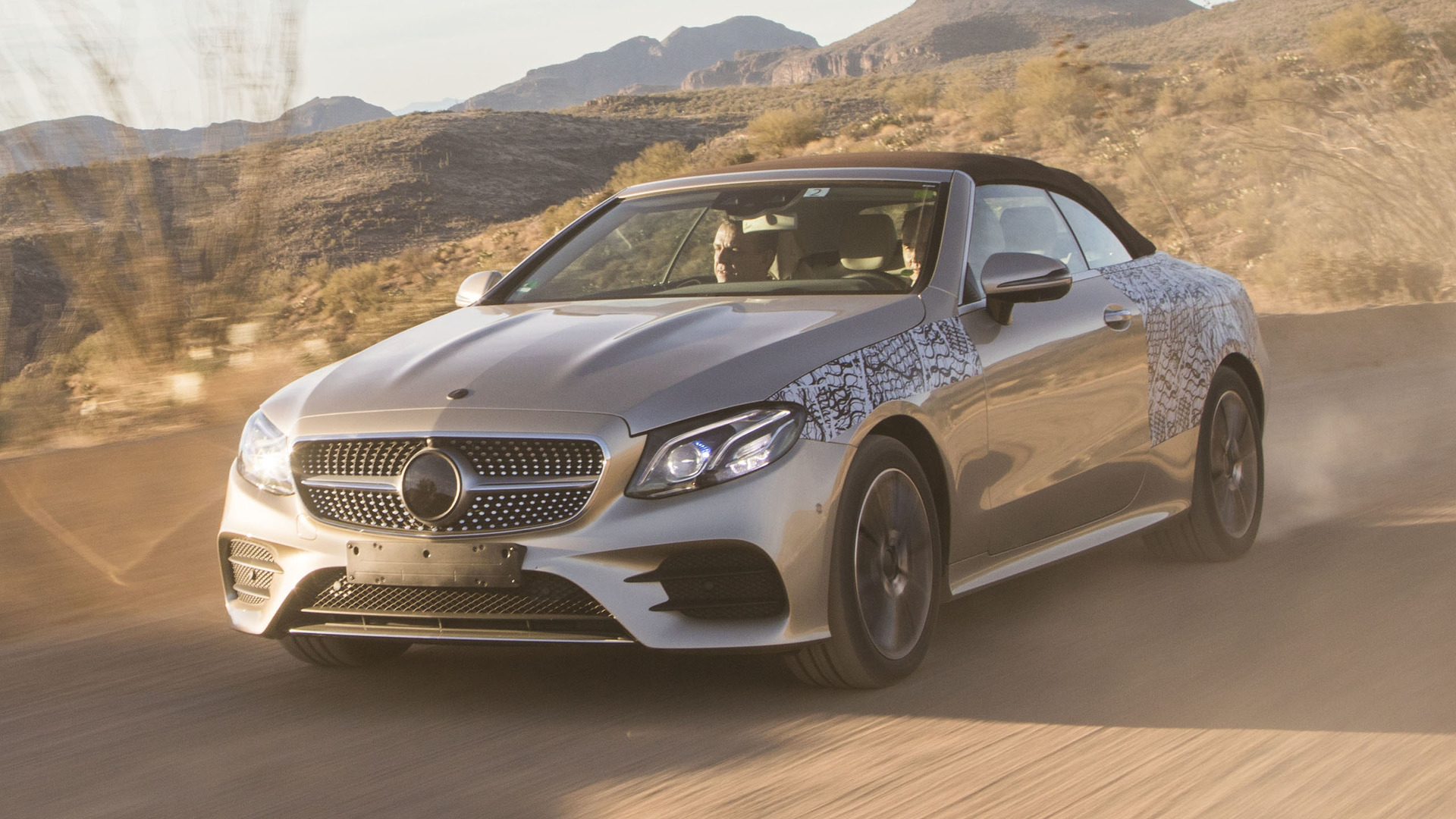 2018 Mercedes E Class Cabriolet First Ride Making of a topless beauty