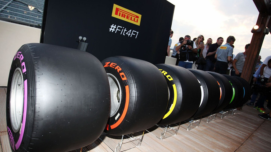 Pirelli reveals tire choices for first F1 races of 2017
