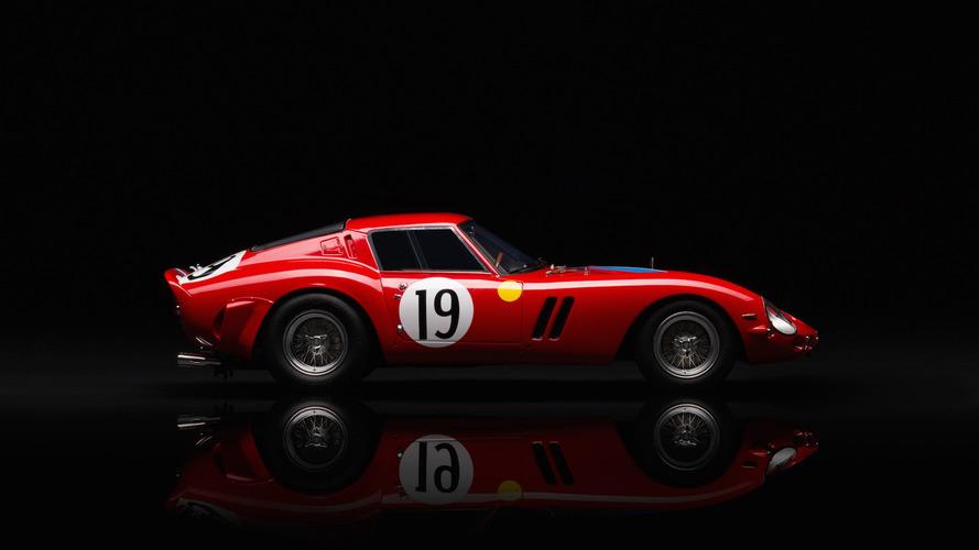 Amalgam Ferrari 250 GTO à l'échelle 1:18