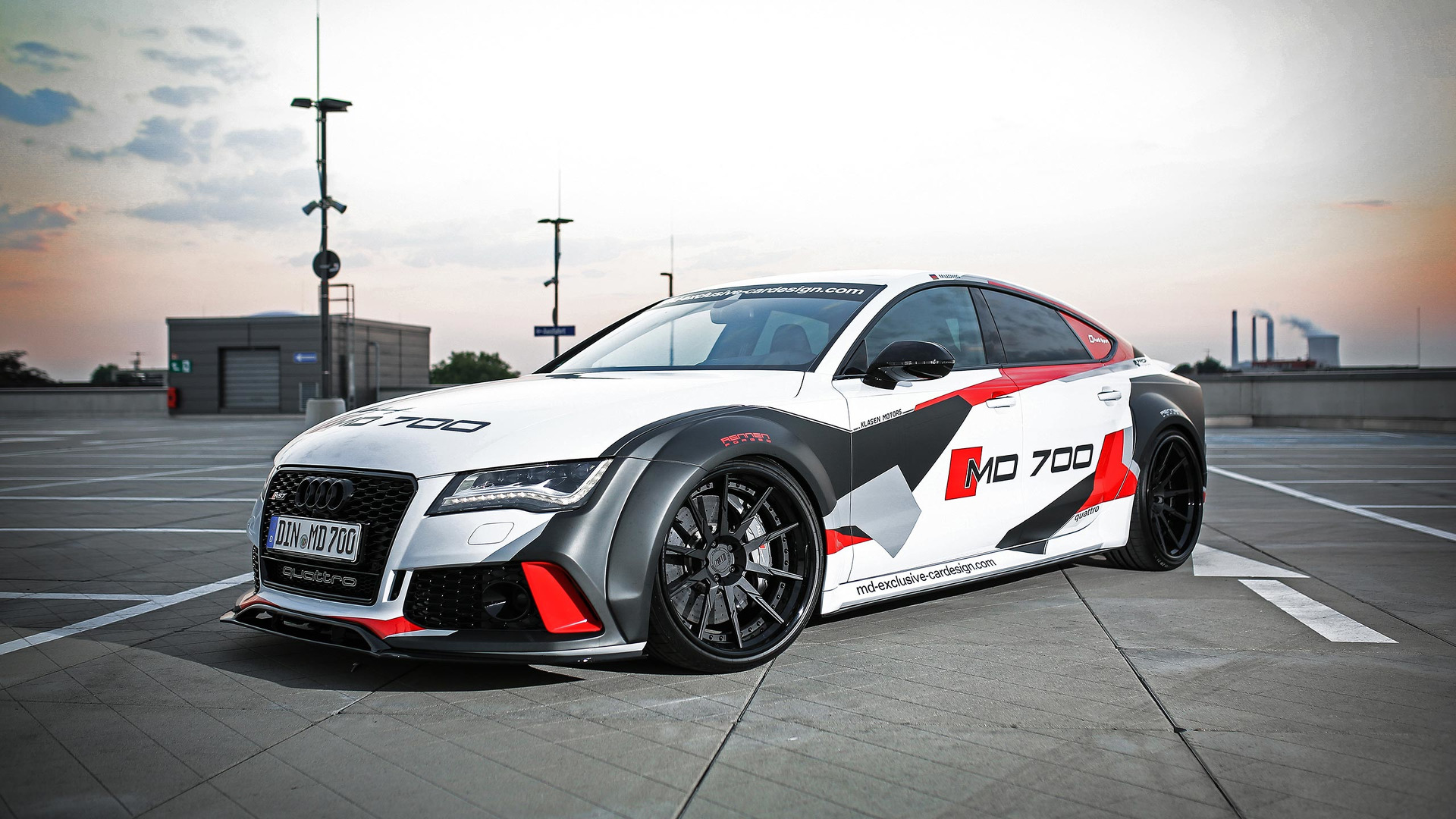690 Hp Audi S7 Widebody Puts The Rs7 To Shame