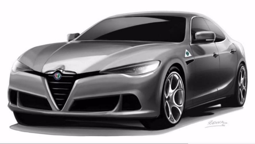 Alfa Romeo doit-il s'inspirer de ce dessin pour l'Alfetta ?