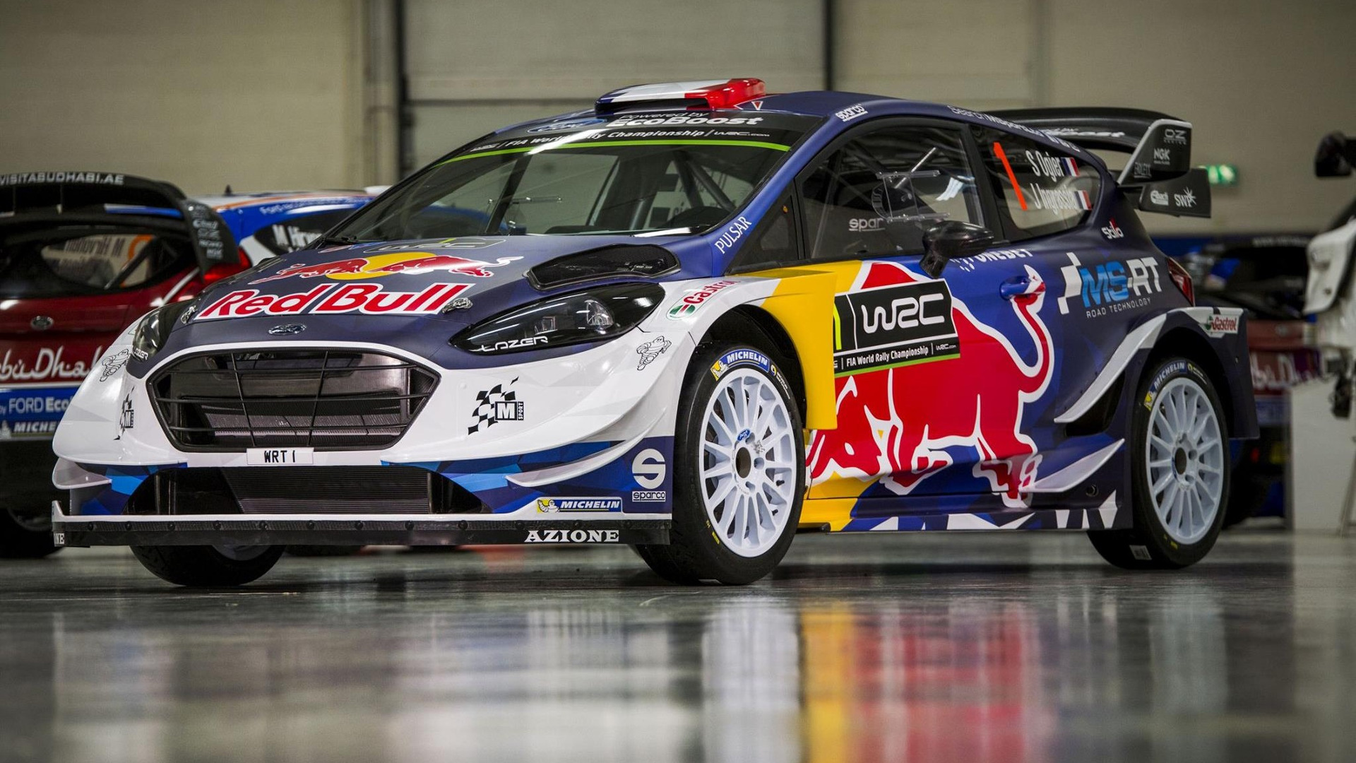 2017 ford fiesta wrc by m sport puts on racing suit