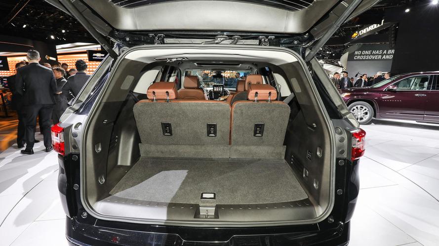 2018 Chevy Traverse Detroit 2017