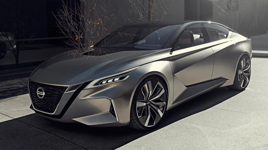 Détroit 2017 - Vmotion 2.0,  le futur selon Nissan