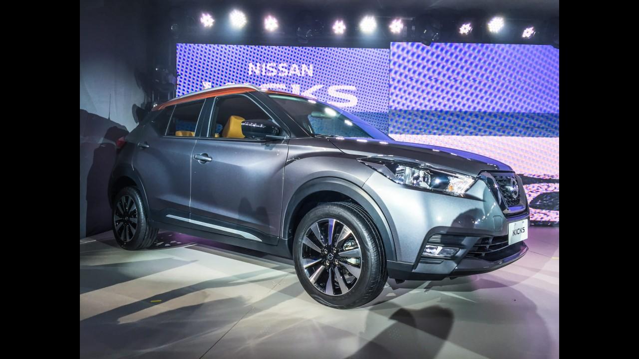 Nota A: Nissan Kicks 1.6 CVT terá consumo de até 13,7 km/l, confirma Inmetro