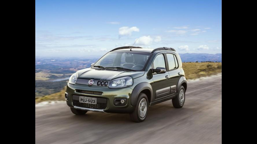 """Fiat Uno Way chega ao Peru como """"mini SUV"""" pelo equivalente a R$ 40,8 mil"""