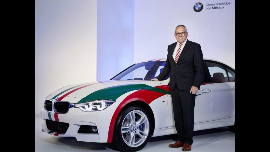 """BMW anuncia fábrica """"estado da arte"""" para produzir Série 3 no México"""