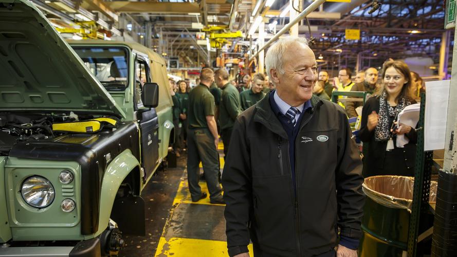 Le dernier Land Rover Defender fabriqué à l'usine de Solihull