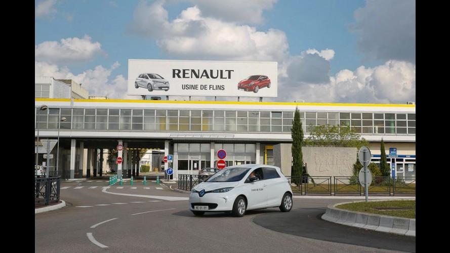 """Renault """"contrata"""" 31 ovelhas para trabalhar em fábrica francesa"""