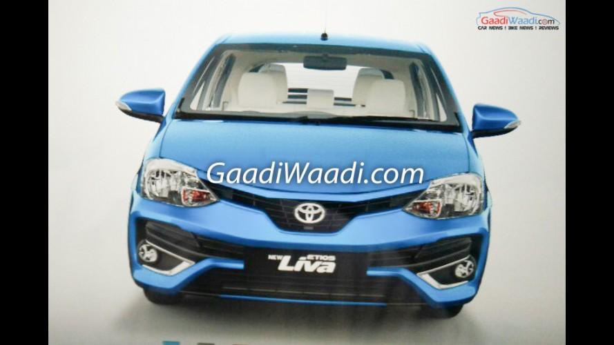 Toyota Etios reestilizado no Brasil será lançado em breve na Índia