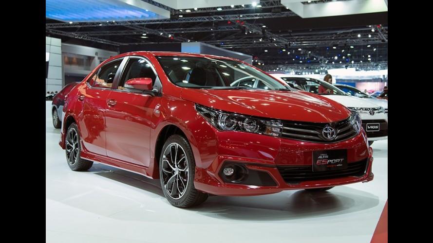 "Toyota Corolla atualiza versões ""esportivas"" ESport e ESport Nurburgring"