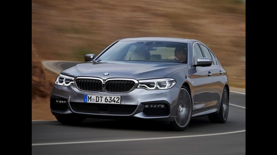 """Novo BMW Série 5 é revelado por completo com estilo """"mini Série 7"""" - veja fotos e vídeo"""