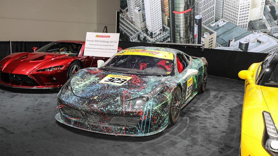 2017 Detroit Otomobil Fuarı'ndaki yarış araçları