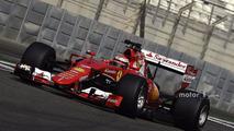 Kimi Raikkonen, Ferrari testing the new 2017 Pirelli tires