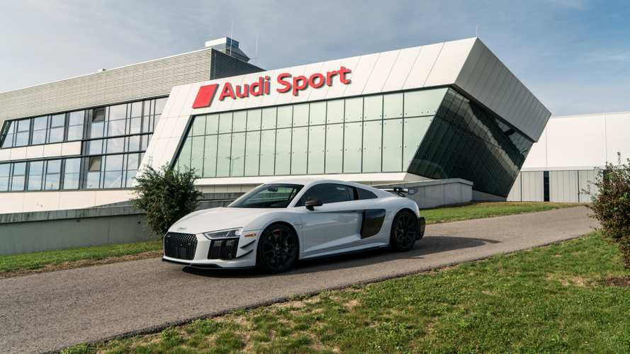 2018 Audi R8 V10 Plus Competition