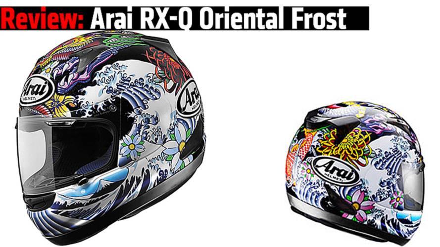 Review: Arai RX-Q Oriental Frost