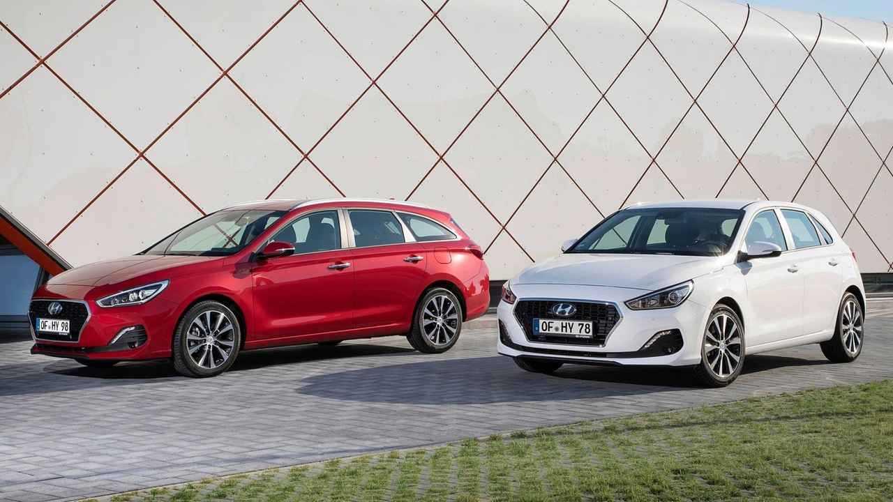 Hyundai i30 und i30 Kombi Facelift