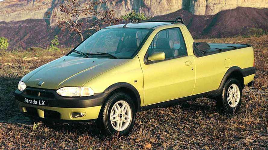 Fiat Strada comemora 20 anos; veja histórico