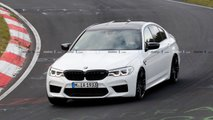 Photos espion - BMW M5 CS
