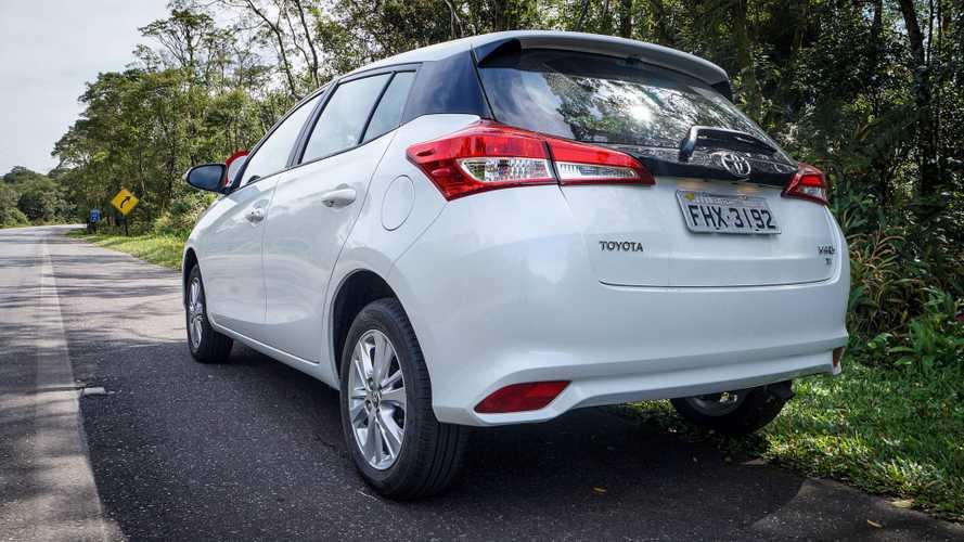 Toyota Yaris 1.3 XL Plus Tech (Teste BR)