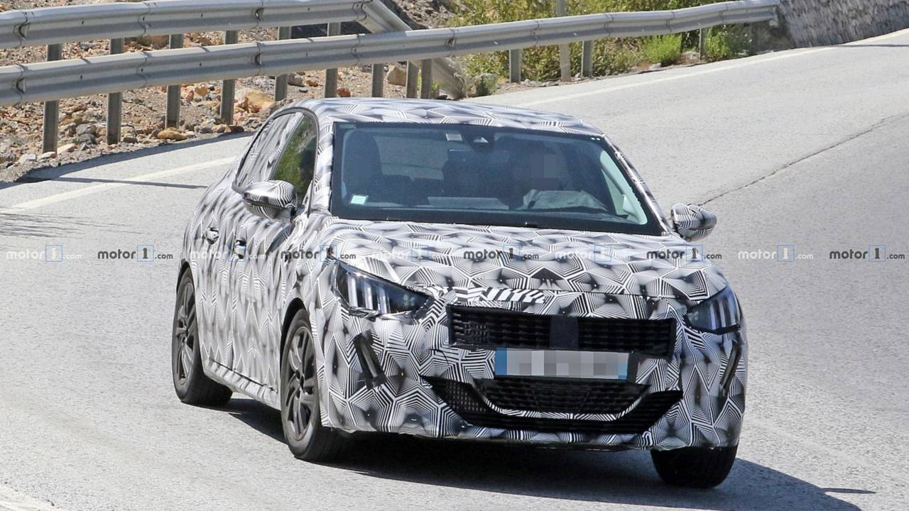 Flagra: Novo Peugeot 208 2019