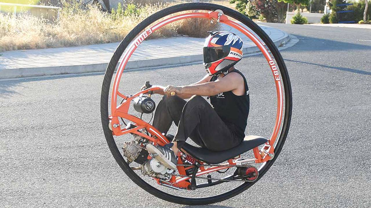 DIY Extreme Monowheel Is Yours to Build