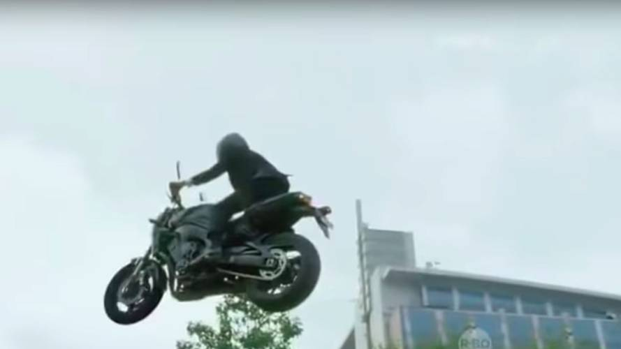 Watch Indonesia's President Show Off His Sick Bike Skills