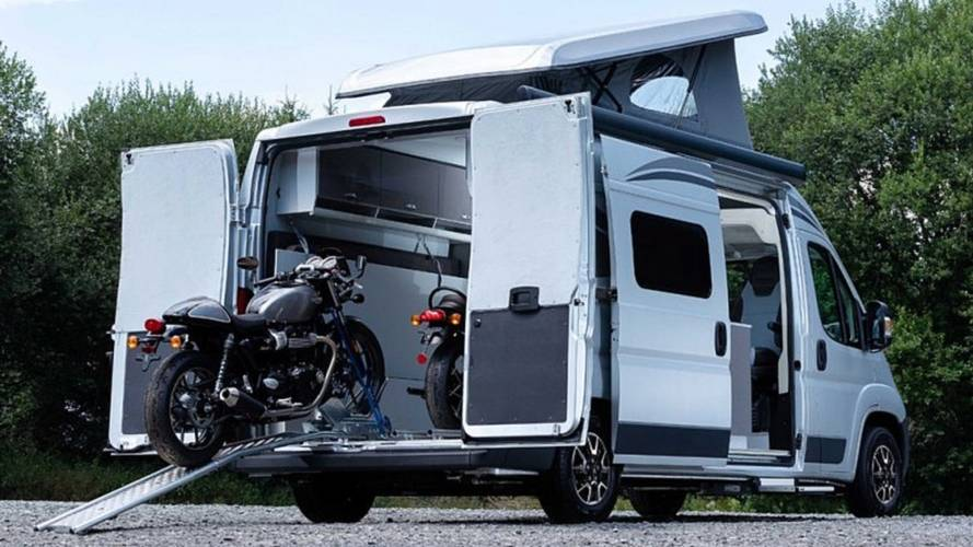 Citroen Has The Solution To All Of Our Bike Camping Problems