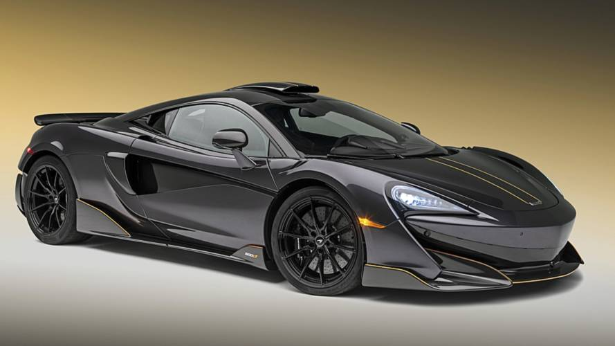 McLaren 600LT, a Pebble Beach come un caccia