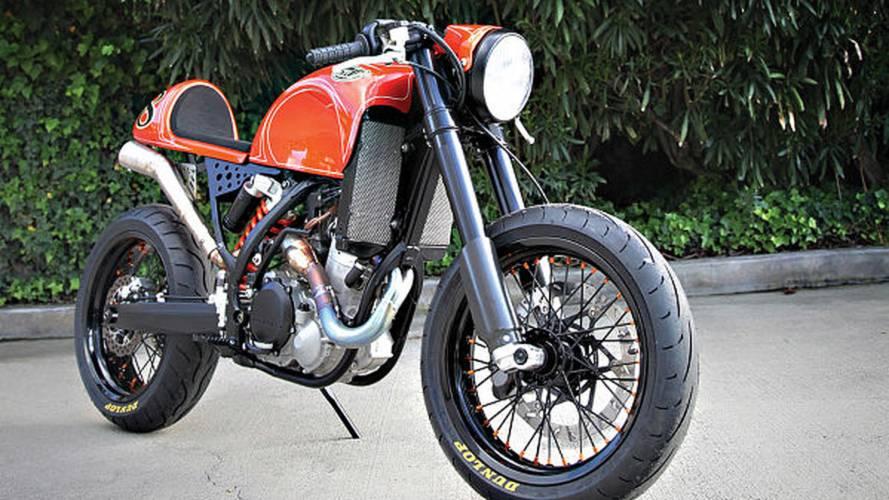 Custom: RSD KTM 525 Cafe Moto