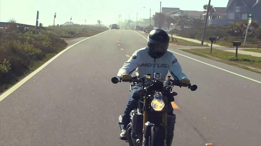 Video: riding the Motus MST-01 at Daytona