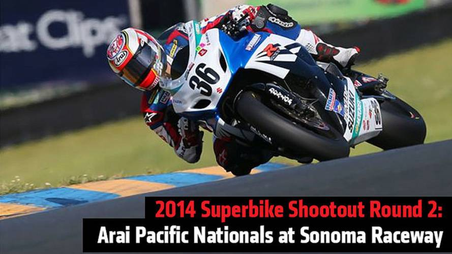 2014 Superbike Shootout Round 2: Arai Pacific Nationals at Sonoma Raceway