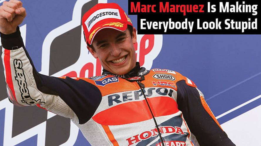 Marc Marquez Is Making Everybody Look Stupid