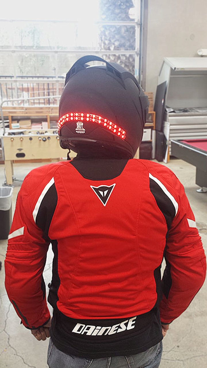 Spotted do it yourself led strip helmet illumination solutioingenieria Image collections