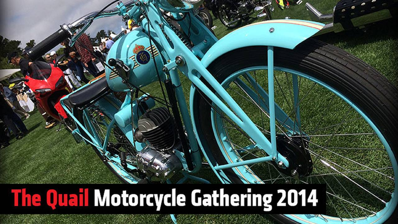 The Quail Motorcycle Gathering 2014
