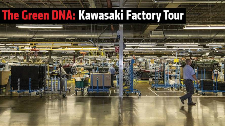 The Green DNA: Kawasaki Factory Tour