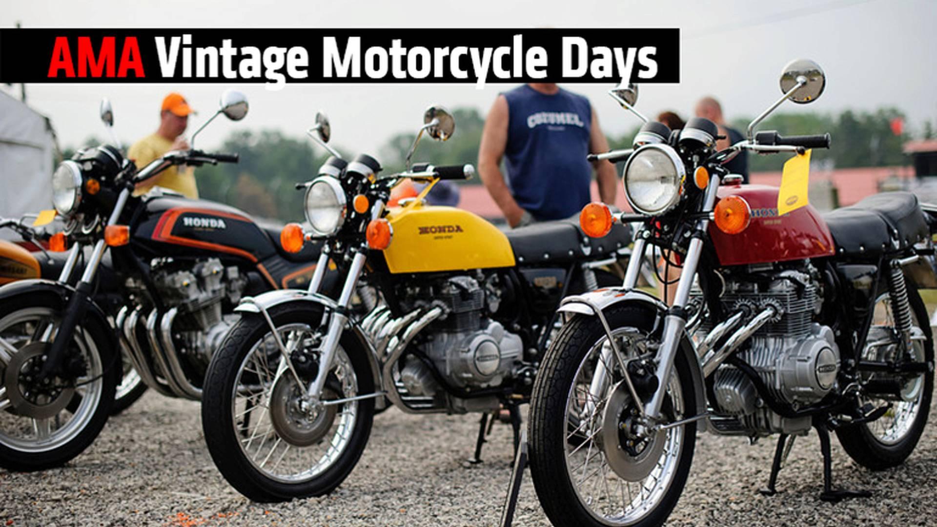 AMA Vintage Motorcycle Days 2017 | SCREAMING THUNDER