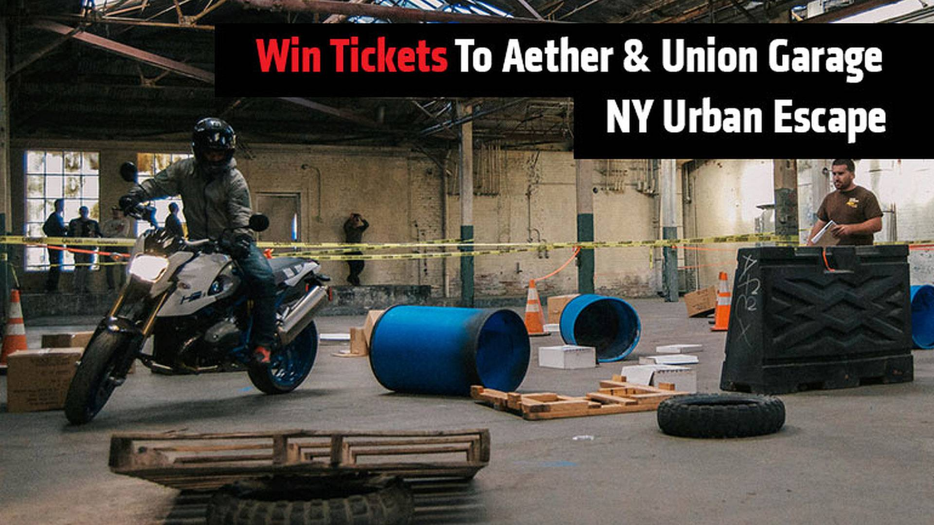 win tickets to aether union garage ny urban escapejpg - Union Garage
