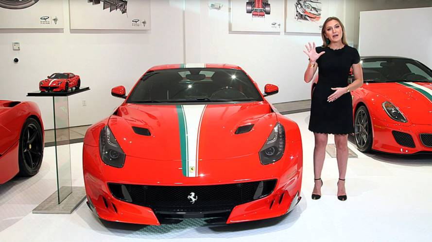 5 things you didn't know about the Ferrari F12tdf