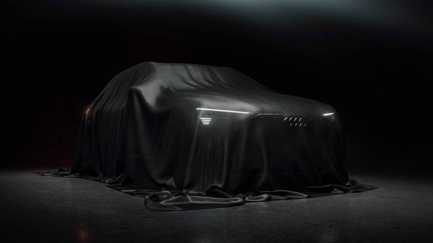 Audi Releases First Production E-Tron Teaser