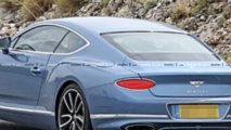 Bentley Continental GT hybrid spy photos