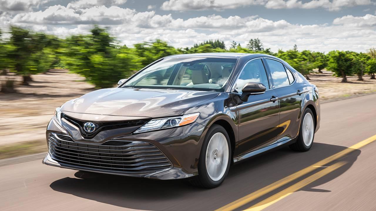 6. Toyota Camry – $2,763-$4,052