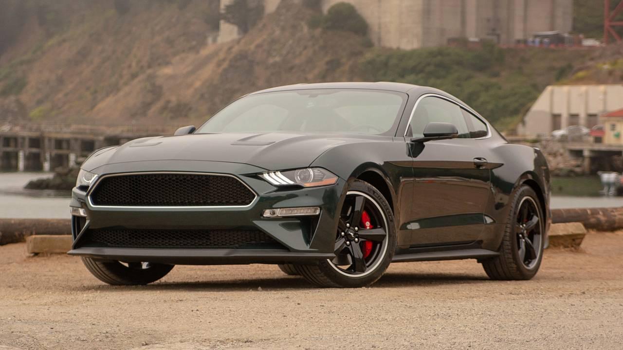 Ford Mustang Bullitt 2018 Test